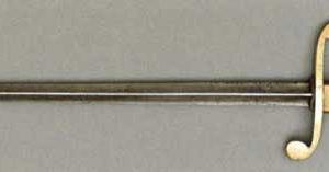 Кортик морской офицерский образца 1803 г. 1809 года выпуска