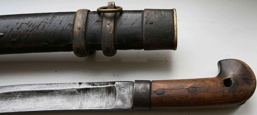 Эфес солдатской шашки азиатского образца 1834 г.